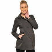 Olian Classic Long Sleeve Maternity Coat