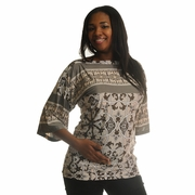 Olian Cloud Nine Boatneck Maternity Top