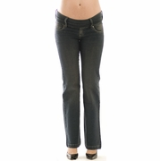 Olian Elly B Maternity Jeans - Dirty Wash