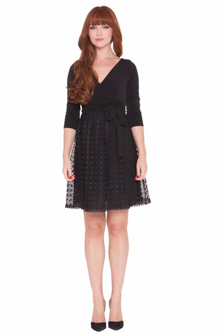 SOLD OUT Olian Eloise Lace Skirt Maternity Dress