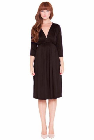SOLD OUT Olian Lucy 3/4 Sleeve Maternity Knee Length Dress