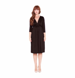 Olian Lucy 3/4 Sleeve Maternity Knee Length Dress