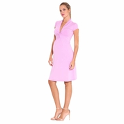 Olian Lucy Cap Sleeve V-Neck Maternity Dress
