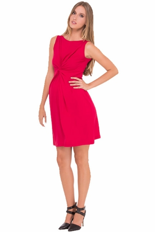 SOLD OUT Olian Lucy Sleeveless Knot Front Maternity Dress