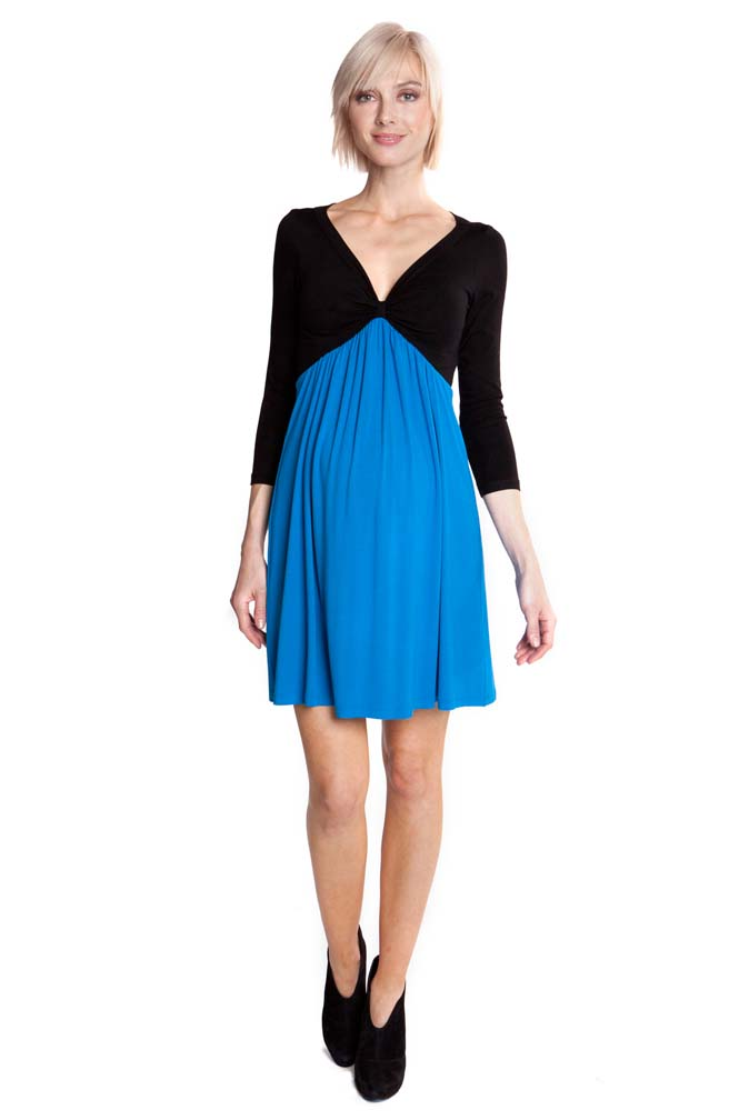 Sold Out Olian Margarette Color Block Maternity Dress