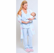 Olian Maternity And Nursing Pajama Set