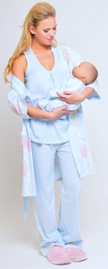 SOLD OUT Olian Maternity And Nursing Pajama Set