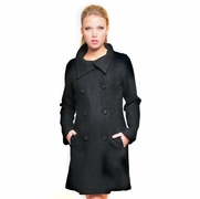 Olian Maternity Pea Coat