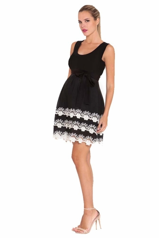 SOLD OUT Olian Mia Lace Trim Tank Maternity Dress