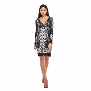 SOLD OUT Olian Monique Tie Front Print Maternity Dress