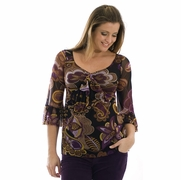 SOLD OUT Olian Peasant Maternity Top - FINAL SALE