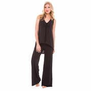 Olian Sarah Sleeveless Maternity And Nursing Pajama Set