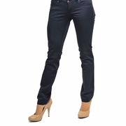 Olian Sateen Skinny Maternity Pants