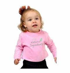 "One Creative Mama Long Sleeve Tee ""100% Natural Ingredients"""