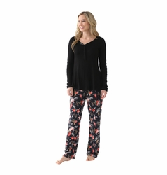 OUT OF STOCK Majamas The Sophia Maternity Nursing Pajama Set