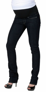 Paige Premium Denim Blue Heights Skinny Maternity Jeans - Dusk Wash