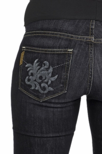 Paige Premium Denim Las Palmas Laurel Canyon Maternity Jeans