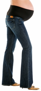 Paige Premium Denim Laurel Canyon Maternity Jeans - Cottonwood Creek Wash