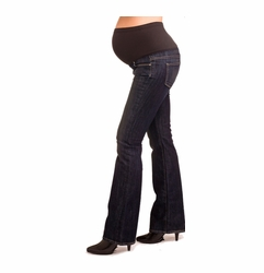 Paige Premium Denim Laurel Canyon Maternity Jeans - McKinley Wash