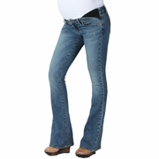 Paige Premium Denim Union Laurel Canyon Maternity Jeans - Playa Wash