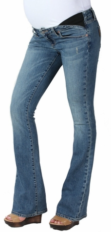 SOLD OUT Paige Premium Denim Union Laurel Canyon Maternity Jeans - Playa Wash