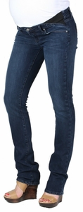 Paige Premium Denim Union Skyline Straight Maternity Jeans - Amethyst Wash
