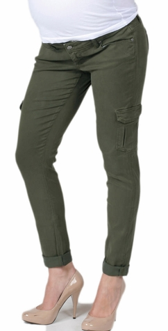 SOLD OUT Paige Premium Denim Westbourne Layne Cargo Maternity Pants