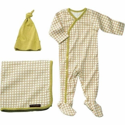 SOLD OUT Petunia Pickle Bottom Girls' Organic Cotton Snuggle Set