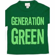 Pluto Kids Short Sleeve Generation Green Tee - FINAL SALE