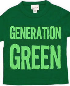 SOLD OUT Pluto Kids Short Sleeve Generation Green Tee - FINAL SALE