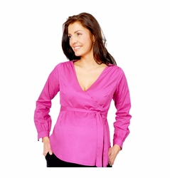 Pomkin Celeste Maternity Wrap Top