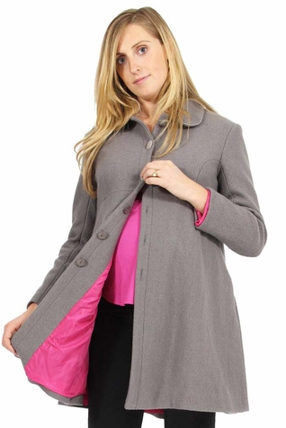 SOLD OUT Pomkin Coco Wool Maternity Coat