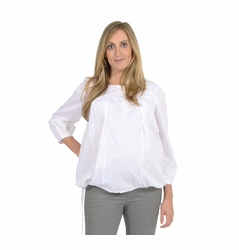 Pomkin Lulu Square Neck Maternity Nursing Shirt