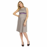 Pomkin Penelope Sleeveless Maternity Dress