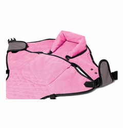 Portamee Infant Headrest, Pink-FINAL SALE