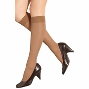 Preggers Light Compression Support Maternity Knee High Stockings