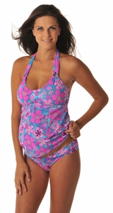 Prego Flower Hug-Kini Maternity Swimsuit
