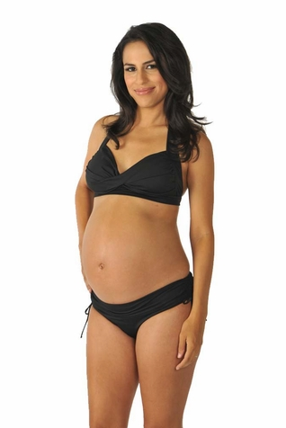 Prego Pin Up Halter Maternity Bikini