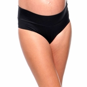 Prego Roll Waist Maternity Swimsuit Bikini Bottom
