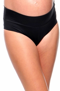 TEMPORARILY SOLD OUT  Prego Roll Waist Maternity Swimsuit Bikini Bottom