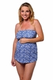 Prego Strapless Maternity Swimsuit - Lulu Print
