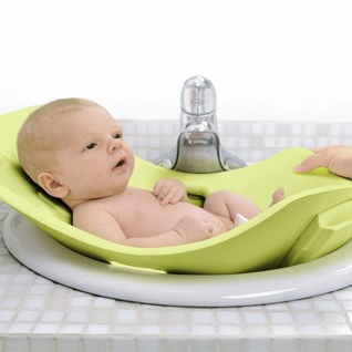 SOLD OUT Puj Tub - The Soft Foldable Baby Bath Tub - Kiwi Green