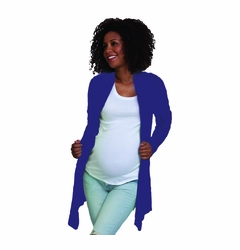 Pure T Wispy Maternity Cardigan Sweater -FINAL SALE