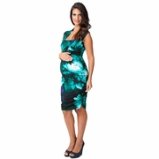 Ripe Harper Tropical Maternity And Nursing Dress