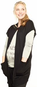 SOLD OUT Ripe Kate Hooded Maternity Cape Sweater