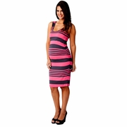 Ripe Maternity And Nursing Stripe Tank Dress