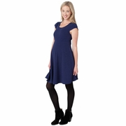 Ripe Maternity Cap Sleeve Skater Dress