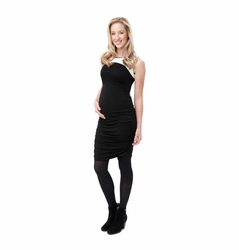Ripe Maternity Cocoon Spliced Bodycon Dress