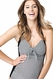 SOLD OUT Ripe Maternity Finelines 1 Piece Retro Halter Swimsuit
