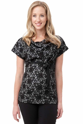 Ripe Maternity Flora Lace Top